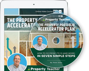 The Buy to Let Accelerator Plan; How to go from 1 to 10 (and more) in seven simple steps, an online video course  by Peter Jones, Chartered Surveyor, author and property investor